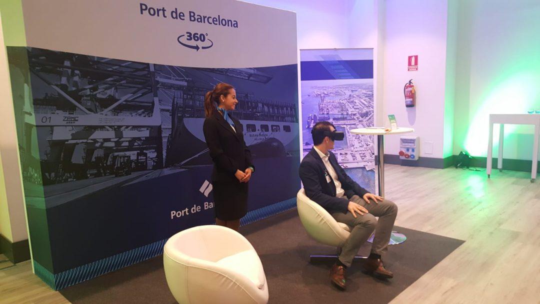 T'apropem el Port.  Submergeix-te en una visita virtual 360º i coneix des de dins el Port de Barcelona